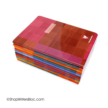 Clairefontaine Medium Side-Staple Notebooks - Lined
