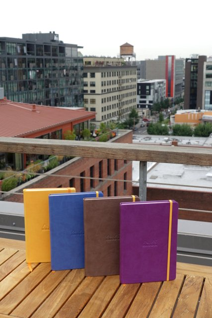 Rhodia Webnotebooks & Portland City View