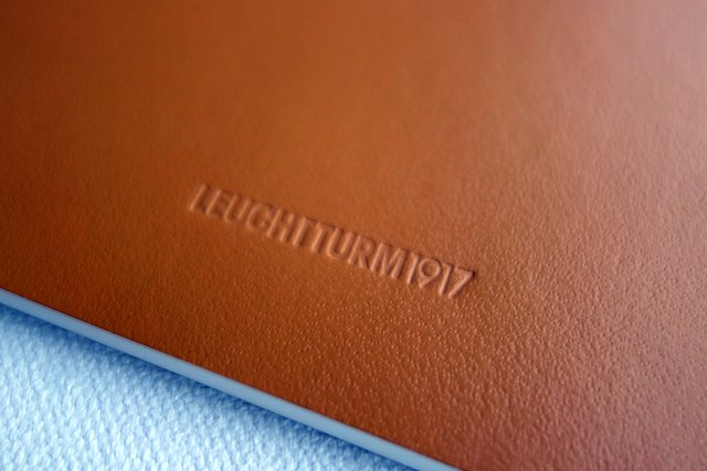 Leuchtturm1917 Jottbook Caramel - Back Cover Close Up