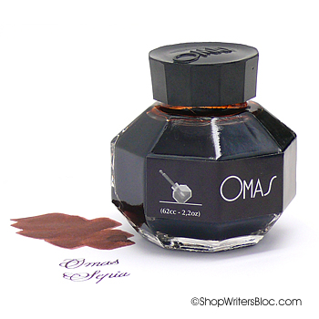 OMAS Sepia Bottled Fountain Pen Ink