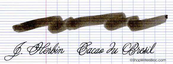 J. Herbin Cacao du Bresil Fountain Pen Ink