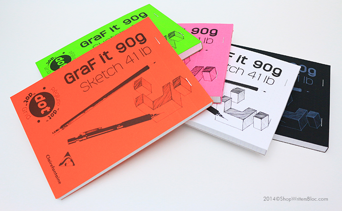 Clairefontaine Graf it 90g Sketch Pad - 6x8, Dot Grid Paper