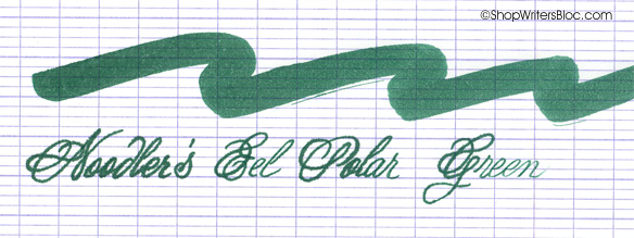 Noodler's Ink - Polar Green
