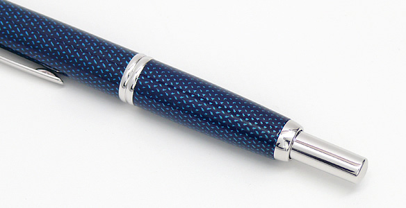 Pilot Vanishing Point Fountain Pen Blue Carbonesque