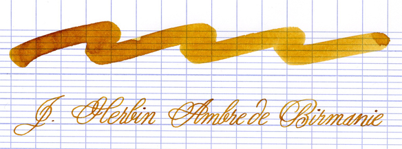 J. Herbin Ambre de Birmanie Fountain Pen Ink