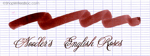 Noodler's Ink - Black Swan in English Roses