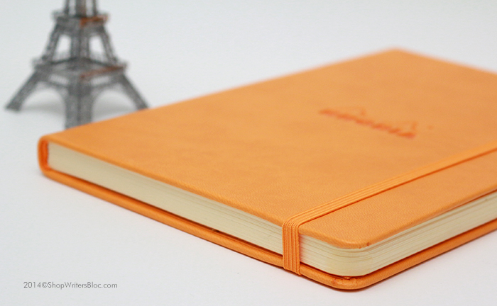 Rhodia Webnotebook with an Orange Cover