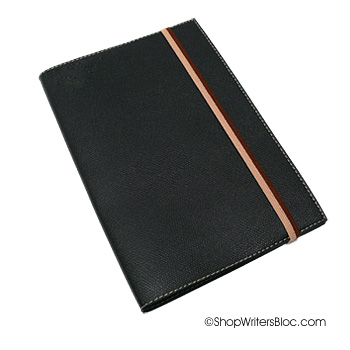 Quo Vadis Monthly 4 Planner - Black Club Cover