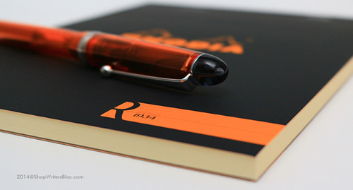 R by Rhodia - Medium Size, Black Cover