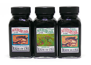 Noodler's Ink 3 oz Glass Bottles