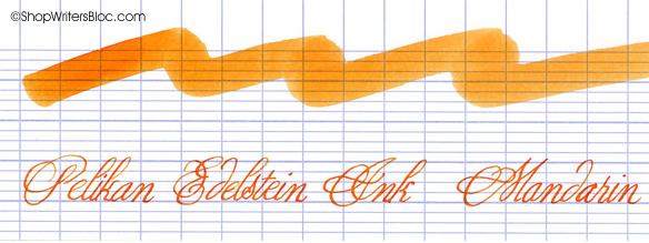 Pelikan Edelstein Mandarin Fountain Pen Ink