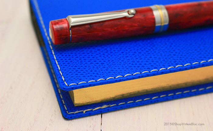 Exacompta Pocket Journal with a Blue Club Cover