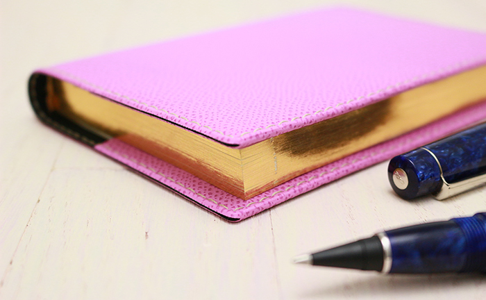 Exacompta Pocket Journal with a Lilac Club Cover