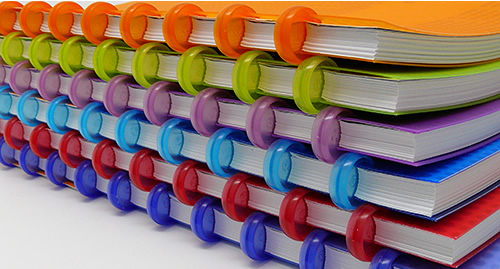"Myndology Disc Bound Notebooks with 5/8"" Discs"