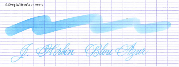 J. Herbin Bleu Azur Fountain Pen Ink