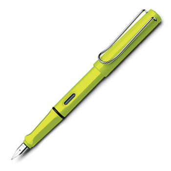 Lime Green LAMY Safari Fountain Pen