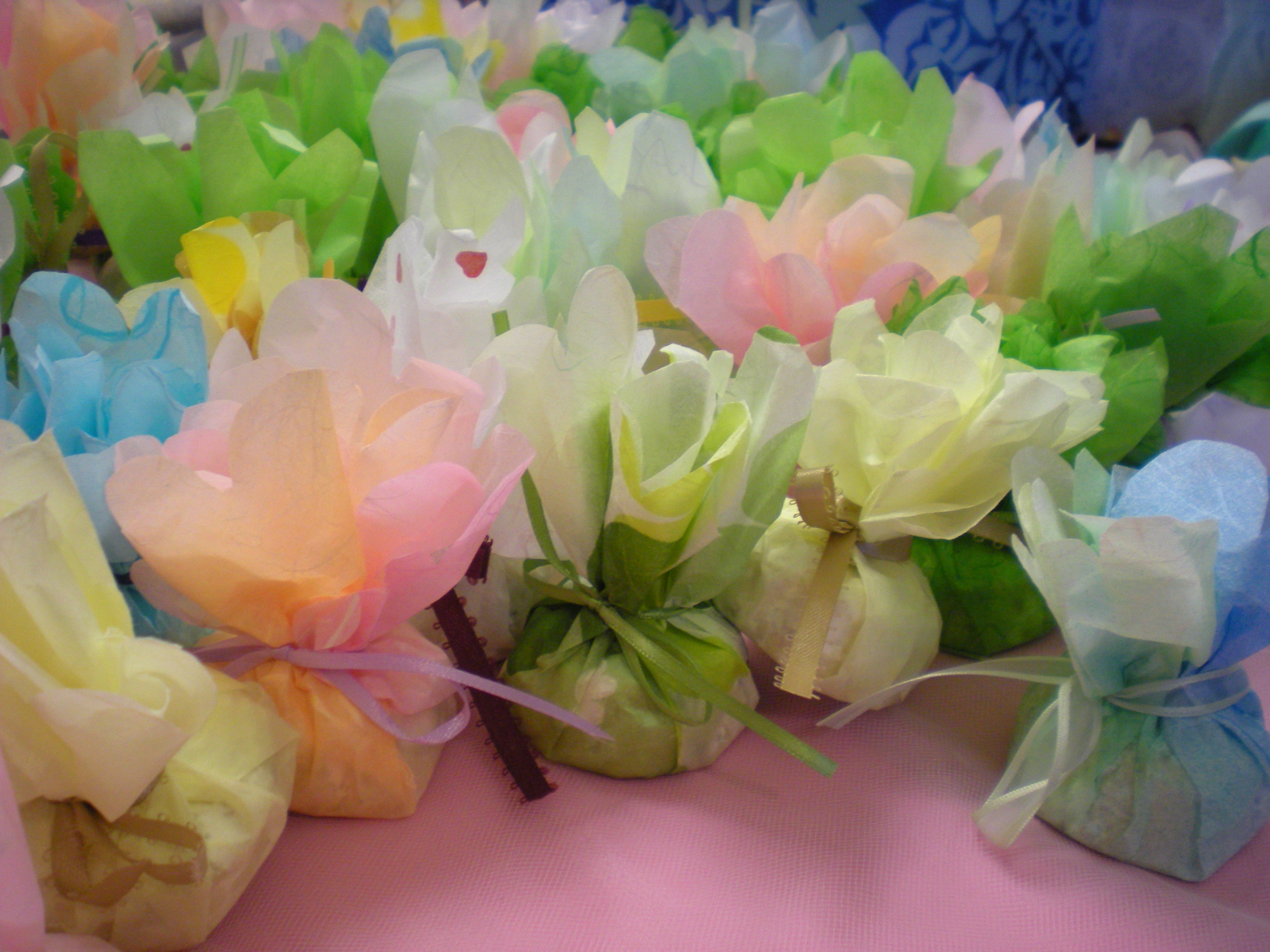 Rice Paper Party Favors