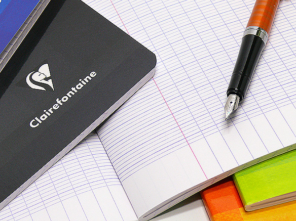 Clairefontaine Side-Staple French Ruled Notebooks