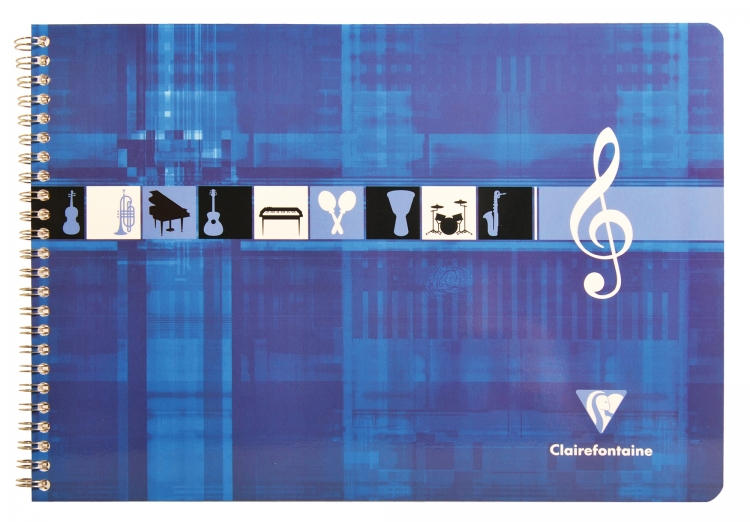Clairefontaine Music Notebook