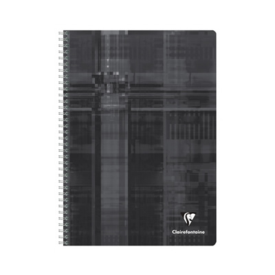 Clairefontaine Wirebound Notebook - Black