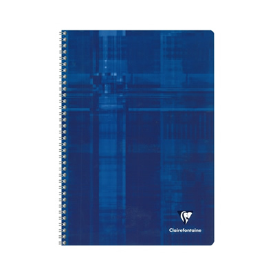 Clairefontaine Wirebound Notebook - Blue