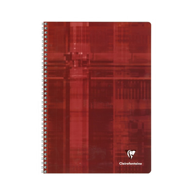 Clairefontaine Wirebound Notebook - Red
