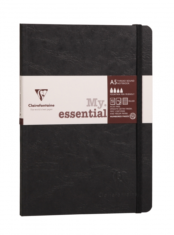 Clairefontaine Paginated Notebook