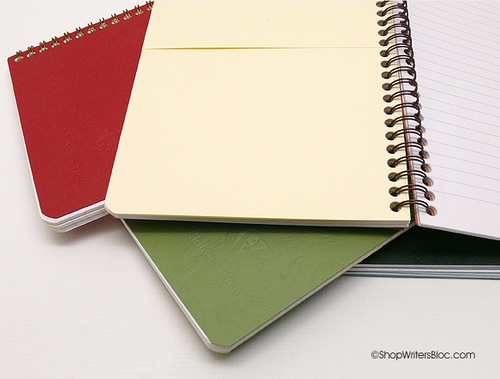 Clairefontaine Medium Size Notebooks with Pockets