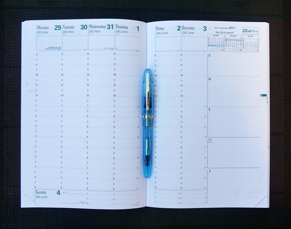 Quo Vadis Minister - Weekly Planning Pages