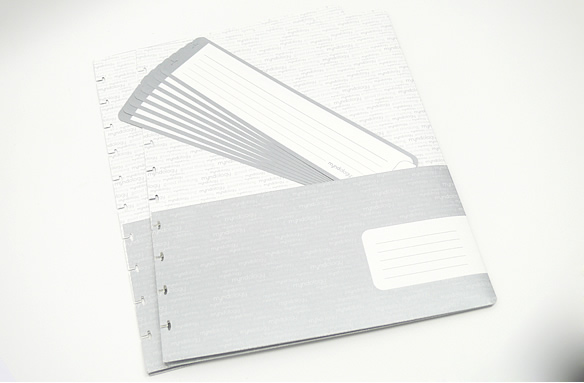 Myndology Notebook Folders and Tabs