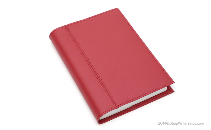 Quo Vadis Textagenda Academic Planner with a Red Chelsea Leather Cover