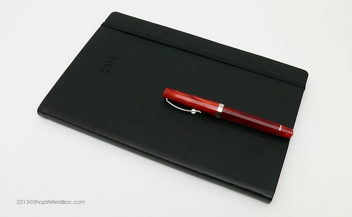 Rhodia Weekly Webplanner with a Black Cover