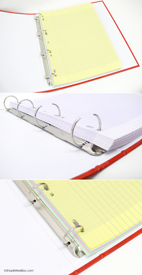 Clairefontaine 4-Ring Binder for Loose Leaf A4 Size Paper