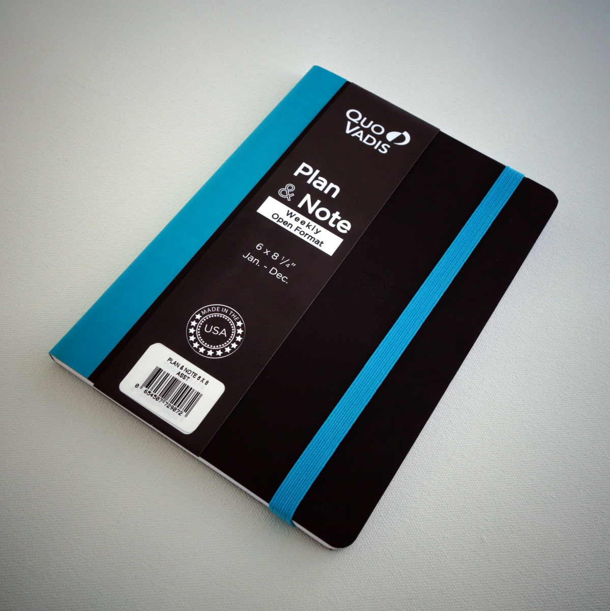 Quo Vadis Plan & Note Planner - Turquoise
