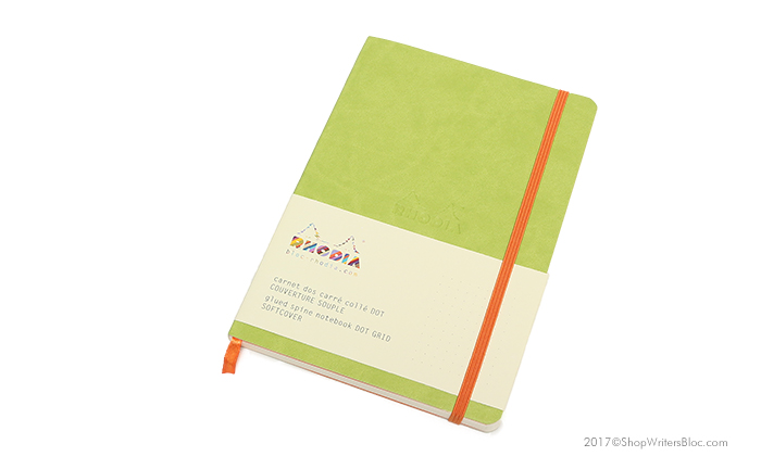 Rhodiarama Soft Cover Notebook - Anise Green Cover