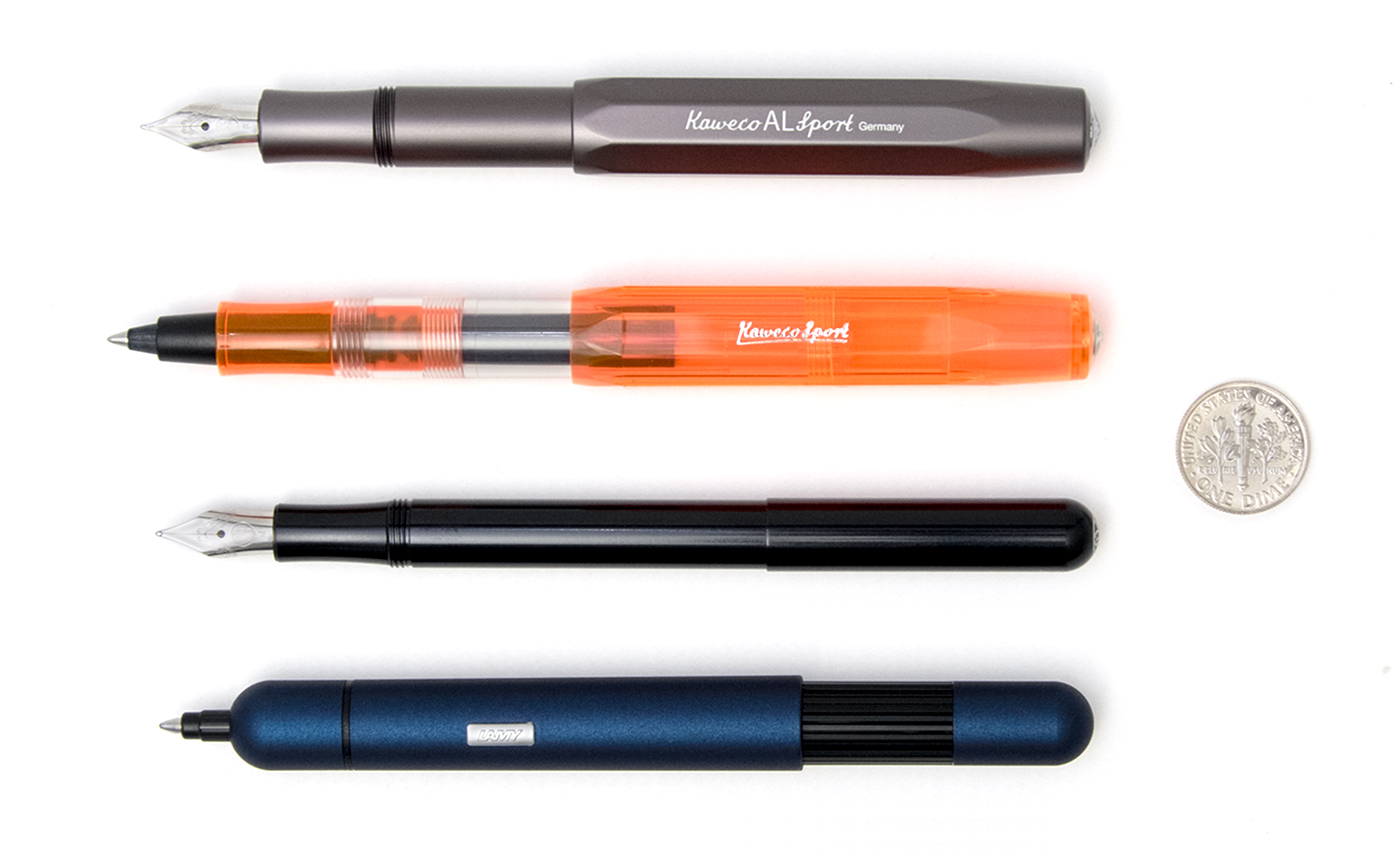 Lamy pico an innovative ballpoint pen for your pocket Ballpoint pen calligraphy
